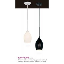 JWG-3007 E12 Pendant light white glass shape modern Pendant lamp