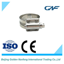 ISO/CE 300 high break torque high pressure hose clamp stainless steel