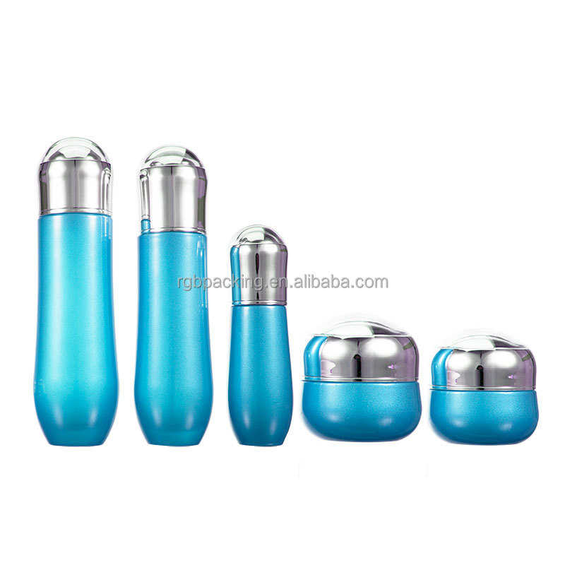 Luxury cosmetic packing Beautiful Design empty glass containers cosmetic bottle
