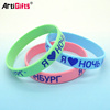 Free samples are available silicon rubber wrist band