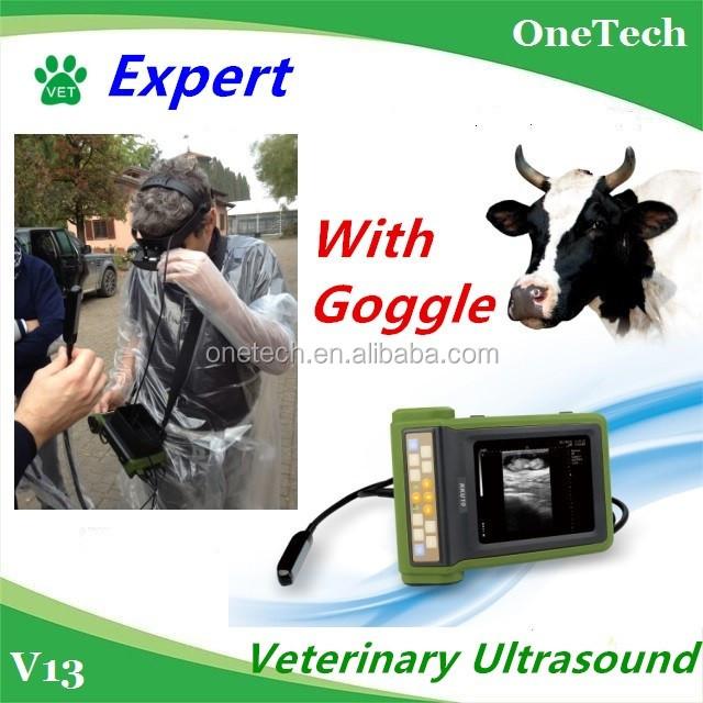 Farmer outdoor environment use animal/vet/veterinary ultrasound machine/scanner/equipment/device: Cow,pig,dog,equine, sheep etc.