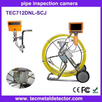 Hot-sale high pixels CCTV drain pipe underwater inspection camera TEC712DN-SCJ