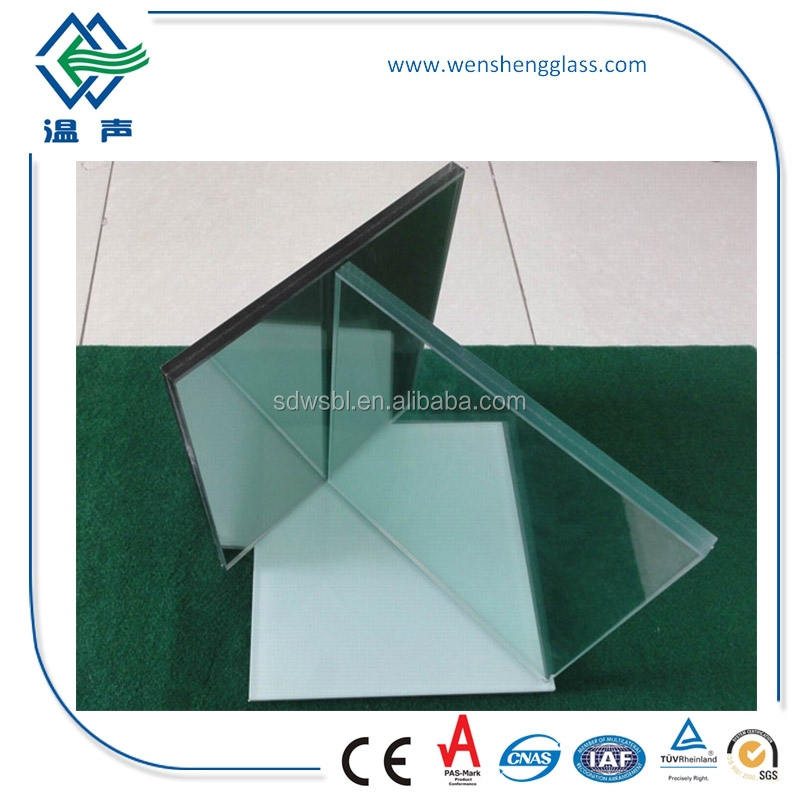 6.38mm-30.38mm building Laminated Glass with CE and CSI Certificate