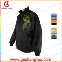 UV protective Antimicrobial polyester mens sublimation Sports Jacket