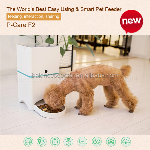 10-12m Range Remote Controlled Automatic Pet Feeder 45 Cups Capacity