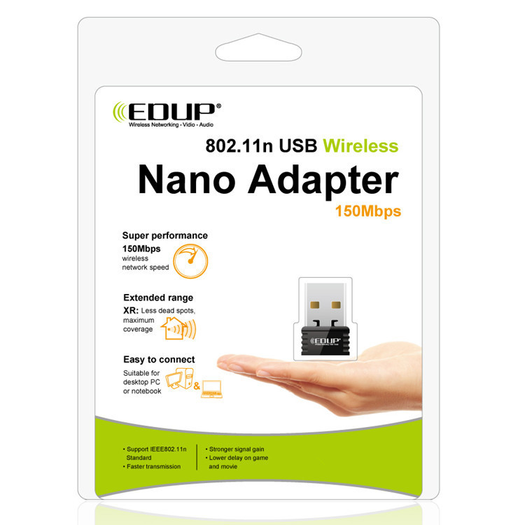 EDUP EP-N8530S ralink MTK 7601 150Mbps mini usb wireless wifi dongle for andriod