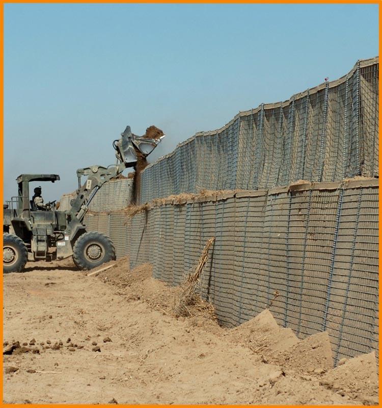 Military Sand Wall Hesco Barrier Mil 1 Mil 10 Buy