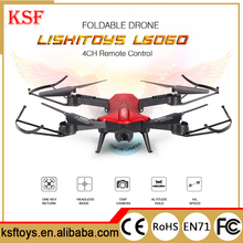 2.4G 4CH LS L6060 2.0MP Camera WIFI FPV Foldable RC Quadcopter Aircraft with Altitude Hold