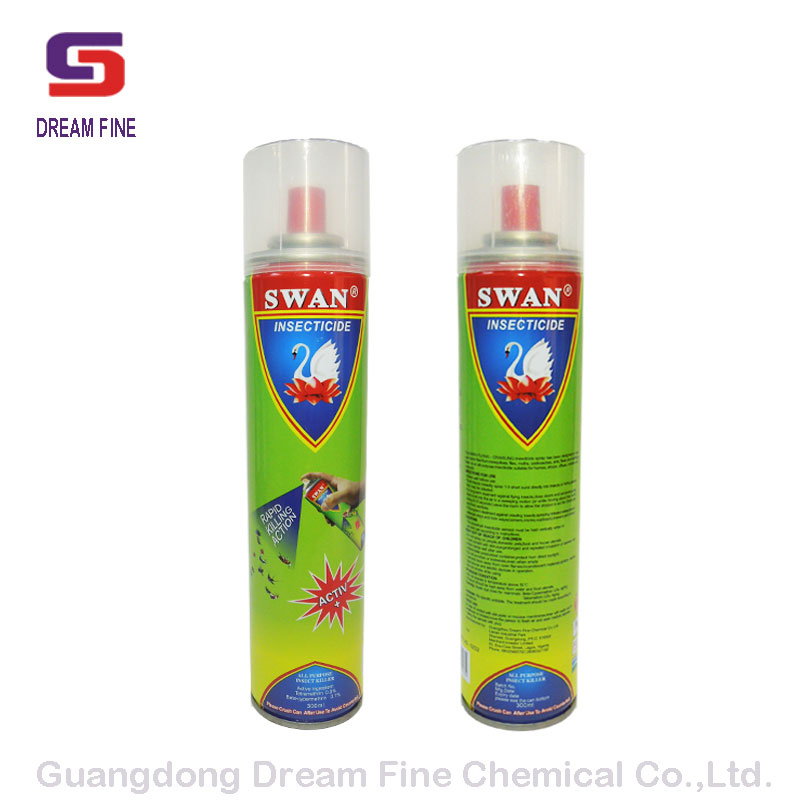 Hot sell pest control insecticide spray mosquito fly cockroach killer bed bug spray 300ml 400 ml 600ml