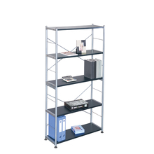 Graceful 4-tiers library furniture metal book <strong>shelf</strong>