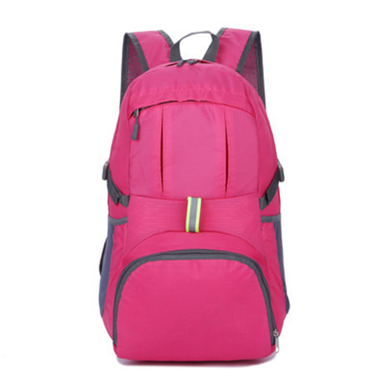 2016 beautiful trendy high school backpack for teens pink for girls