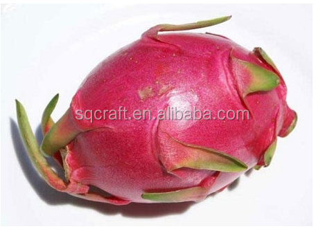 High quality artificial fake fruit,Very realistic fake dragon fruit/pitaya for display