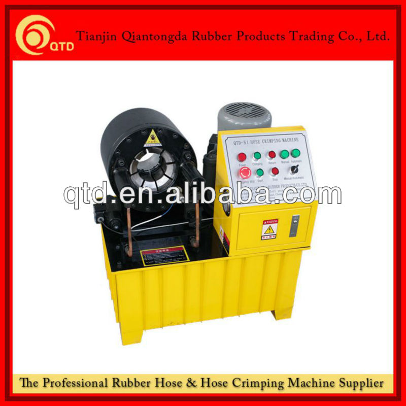 hydraulic hose fitting crimping machine