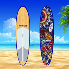Dot design Printed cloth epoxy printing board surfboard