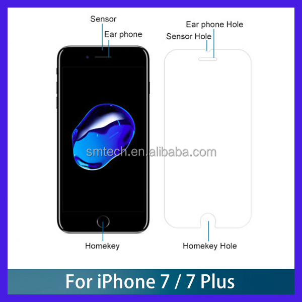 9H Tempered Glass Screen Protector For iPhone 7, Screen Protector For iPhone 7 Tempered Glass, 2.5D Curve Glass
