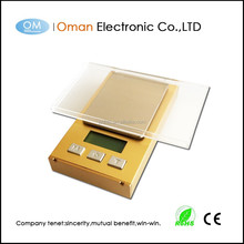 gold color electronic digital gold scale with tare function precision electronic balance