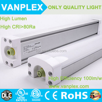 fast delivery outdoor led tri-proof light fluorescent tube 60W Waterproof led lighting fixture