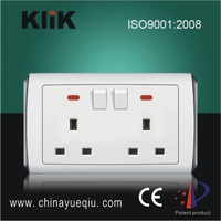 Electric switches and sockets outlet 13amp uk electrical sockets
