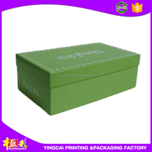 Customized Full Color Printing Shoes Packaging Wax Corrugated Box