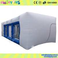 Custom inflatable portable paint booth
