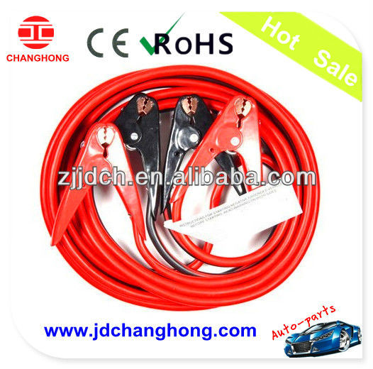 NEW 2 Gauge - 30 foot 800AMP Booster Cable Jumping Cables Power Jumper with Parrot Jaw Clamp