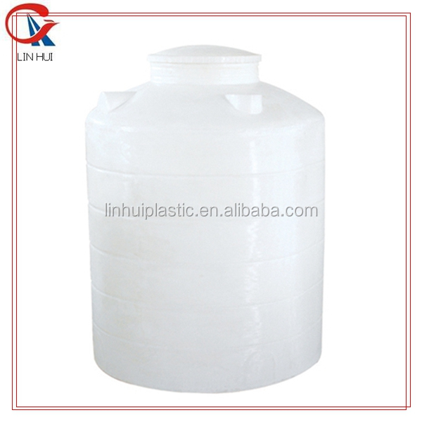 Column round chemical fuel storage plastic water tank