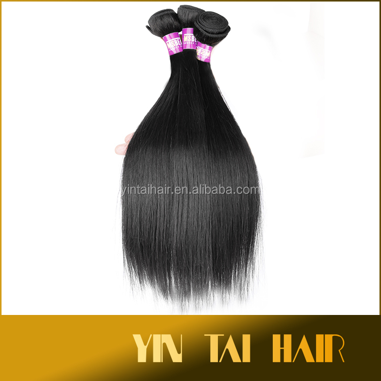 New Styles 6A Black Brzailian hair 100 brazilian Human Hair Weave virgin 8'' to 30'' straight