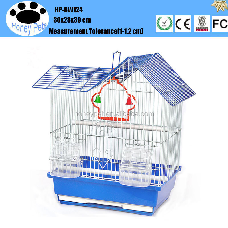 Factory direct sale artificial antique bamboo bird cages.