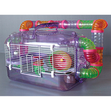 Wholesale Portable Custom Plastic Pet Cage Tray Hamster Cage