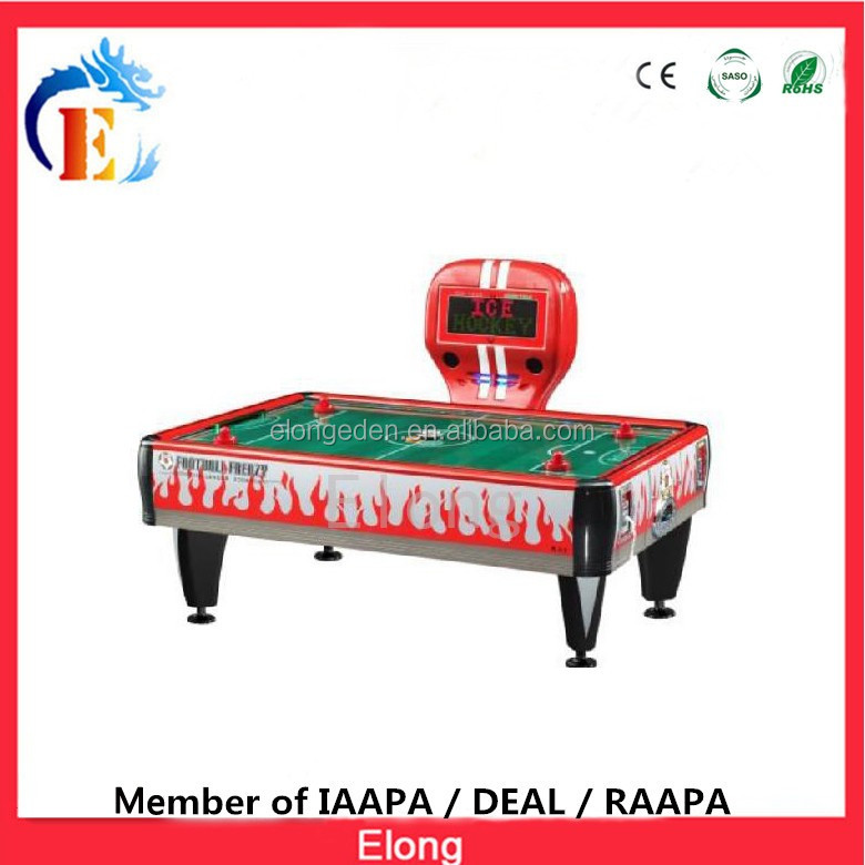 Coin operated air hockey indoors 4 person air hockey table