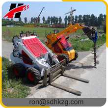 Mini skid steer loader with CE EPA certified
