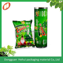custom Rotogravure Printing candy packaging roll film