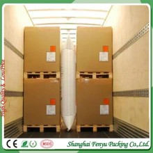 FENYU brand pp and kraft air dunnage bags for containers to protect cargoes avoid damage in transport