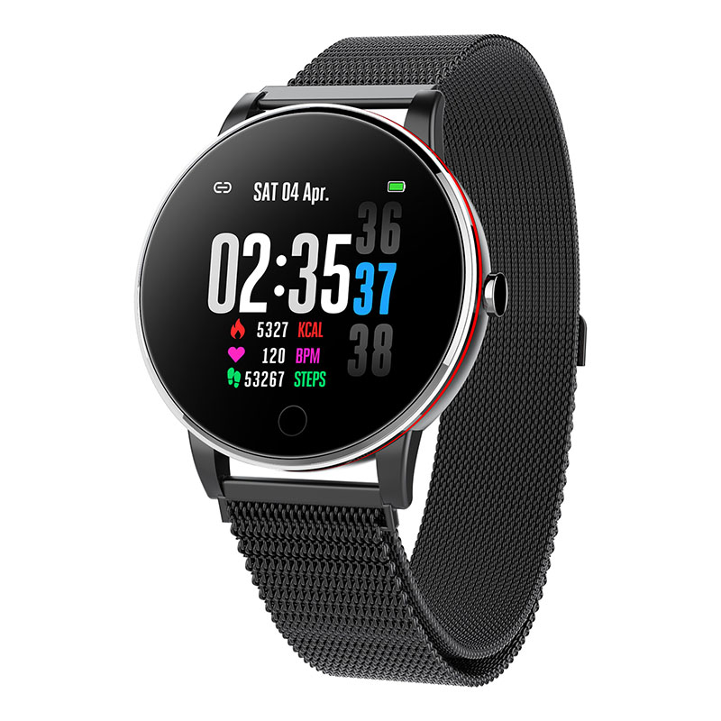 Q19 Colorful screen IP67 Waterproof Wrist Watch Smartwatch Blood Pressure Monitor Heart Rate fitness smart watch