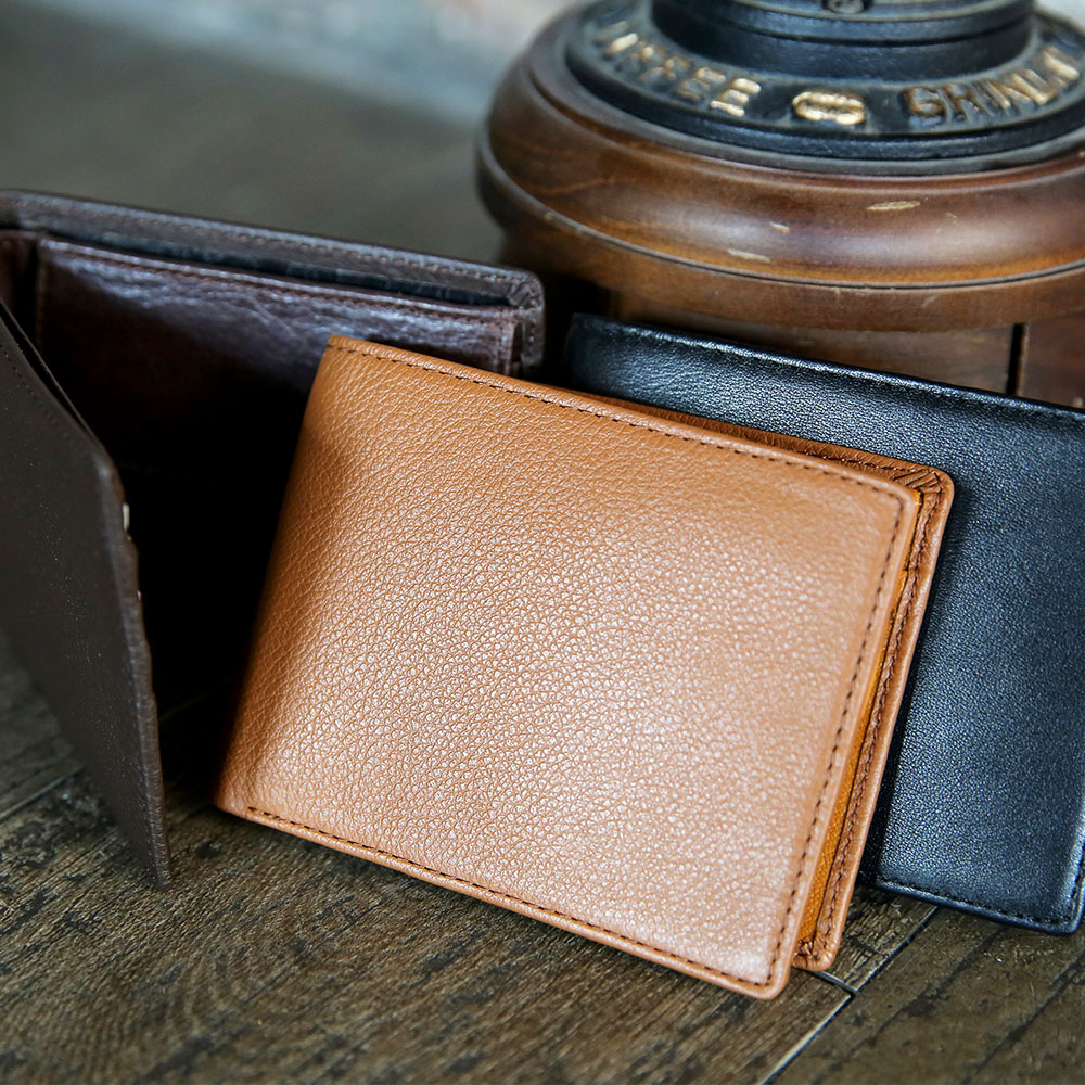 Best Brand Durable Man Leather Wallet With Coin Pocket