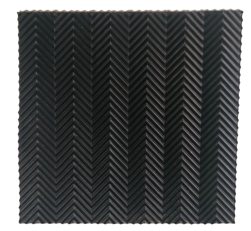 top selling best price black color fish bone rubber sheet with ISO 9001 abd CE certificate