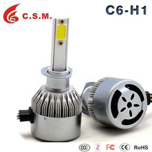 C6 SERIES Auto Z4 4COB Car LED Headlight Kit H7 H8 H11 9005 9006 Bulbs 40W 4000LM White 6000K Plug and Play