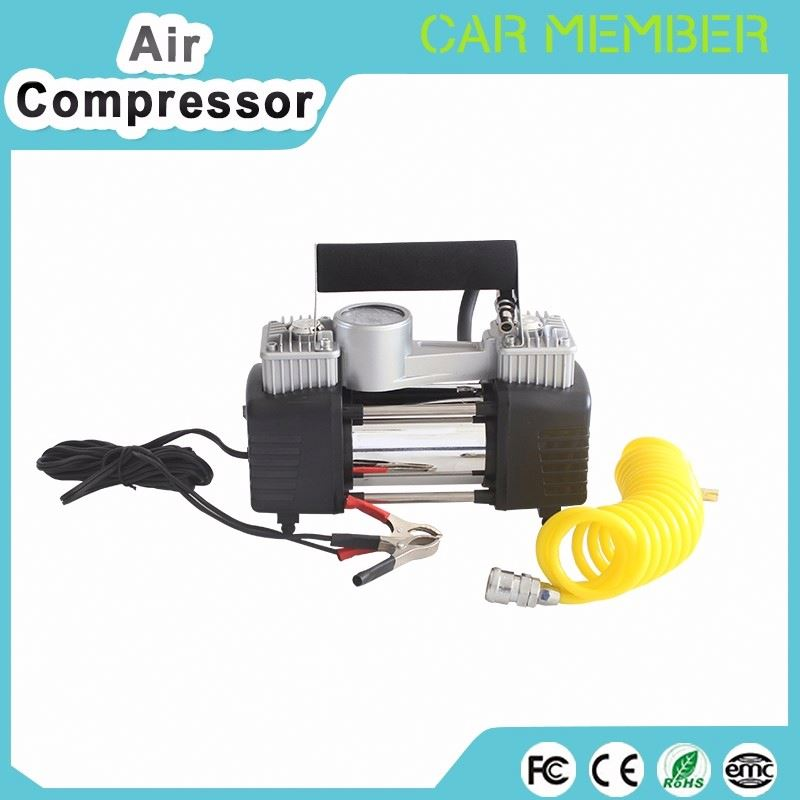 Low profile tire inflation automatic car air compressor 12v car air compressor pump