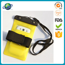 Armband waterproof dry sport mobile cell phone pouch bag for swim
