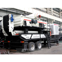 Mobile Rock Crushing Machine Plant Price For Sale