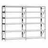 Garage storage ceiling storage rack economical medium duty long span shelving warehouse storage rack
