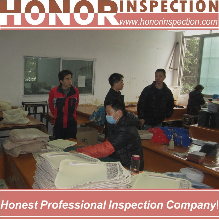 quality control in garment industry outdoor bag
