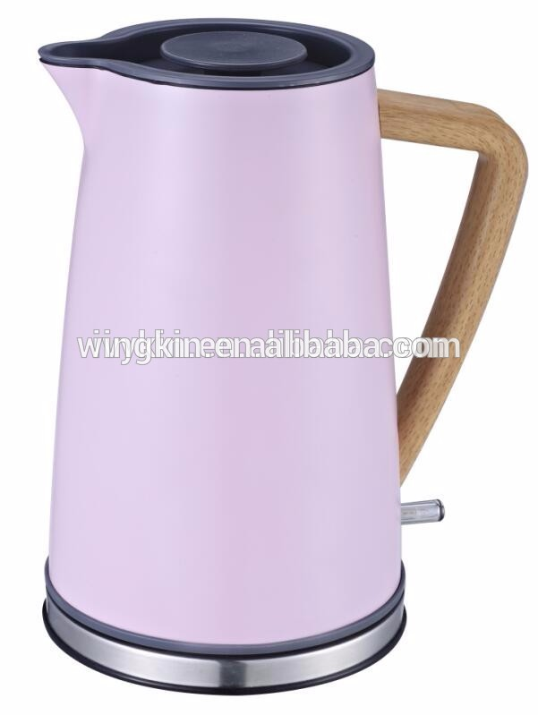 Anti-scald plastic eletric heating national electric kettle