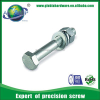 Hexagon Head Zinc Plated M16 Bolt Dimensions
