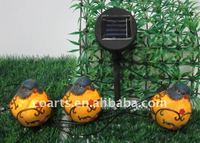 Solar Energy Lantern with flower