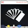 MAGNETIC STRIPE CARD WHITE GOLDEN SILVER
