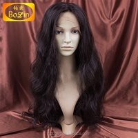 Bolin 100% human hair 8A lace front hair wigs for black man