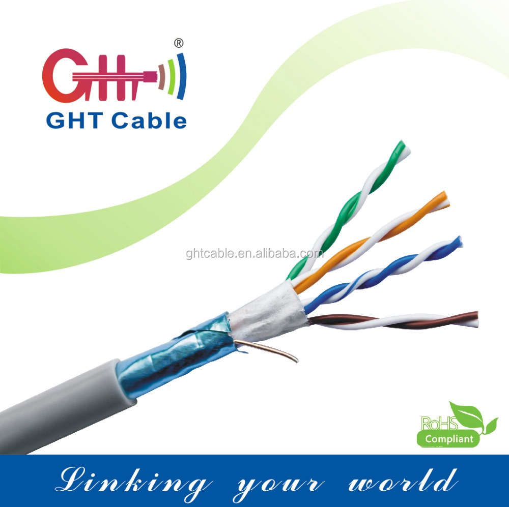 WHOLESALE PRICE!!CCA CAT5e LAN CABLE FTP 24AWG CCA NETWORK WIRE