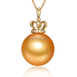 Dubai 14 18K Rose Gold Jewelry Pearl Set