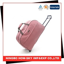 Travel bags with trolley sleeve/ wholesale travel bags/travel trolley bag